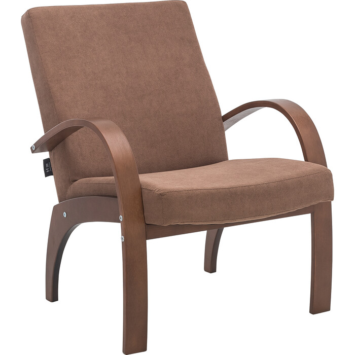 Кресло для отдыха Мебель Импэкс Денди орех ткань Verona brown