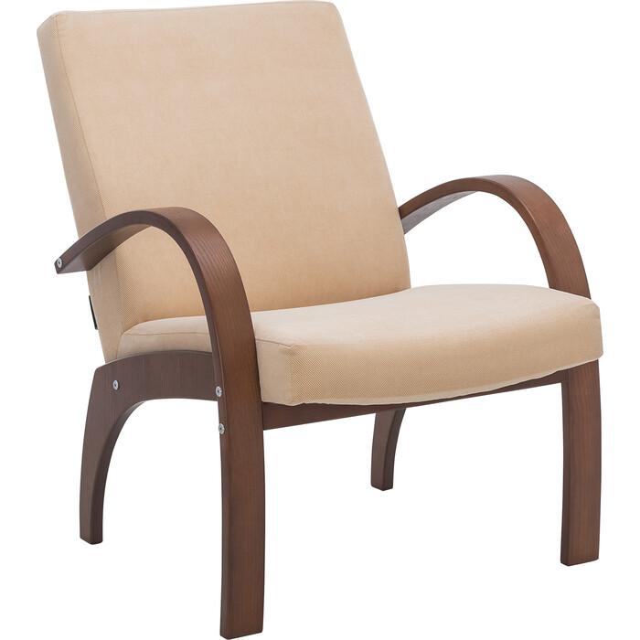 Кресло для отдыха Мебель Импэкс Денди орех ткань Verona vanilla