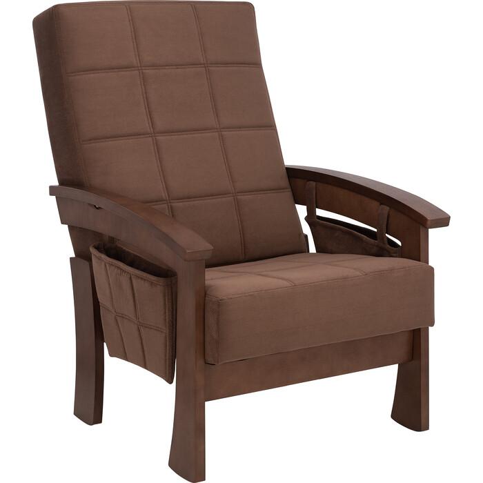 Кресло для отдыха Мебель Импэкс Нордик орех ткань Verona brown