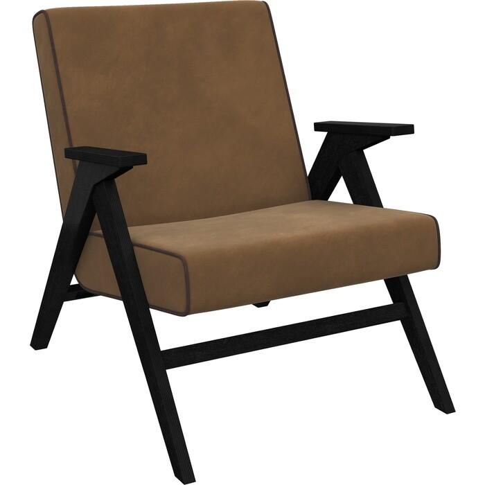 Кресло для отдыха Мебель Импэкс Вест венге ткань Verona brown, кант wenge