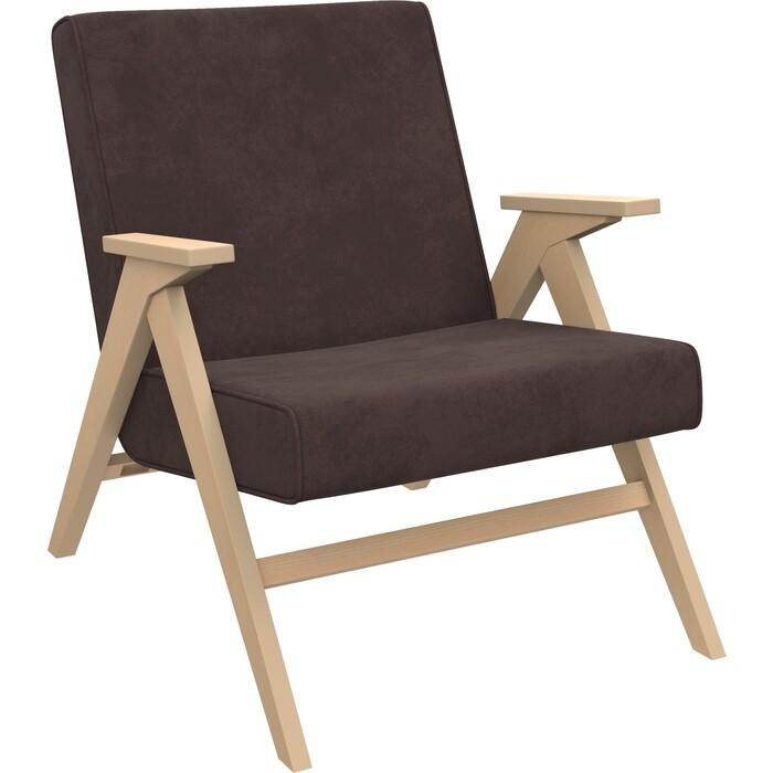 Кресло для отдыха Мебель Импэкс Вест натуральное дерево ткань Verona wenge, кант wenge