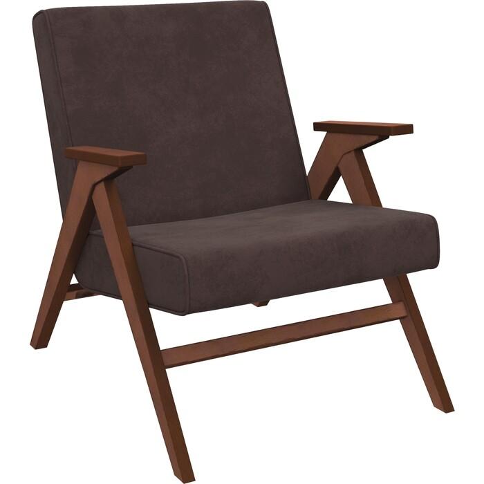 Кресло для отдыха Мебель Импэкс Вест орех ткань Verona wenge, кант wenge