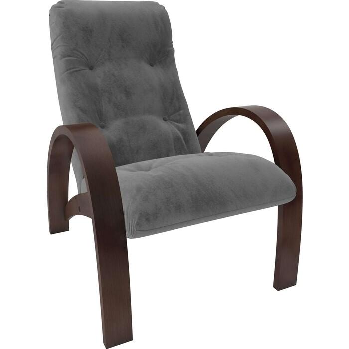 Кресло Мебель Импэкс Модель S7 орех/шпон ткань Verona antrazite grey