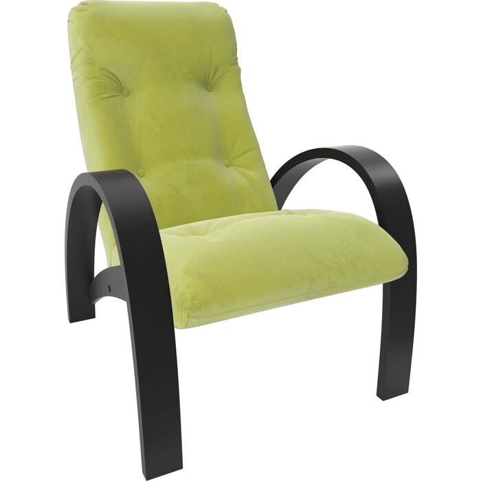 Кресло Мебель Импэкс Модель S7 венге/шпон ткань Verona apple green