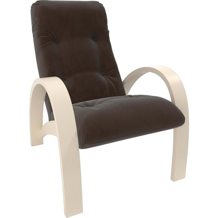 Кресло Мебель Импэкс Модель S7 дуб шампань/шпон ткань Verona brown