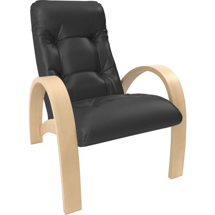 Кресло Мебель Импэкс Модель S7 натуральное дерево/шпон к/з dundi 109
