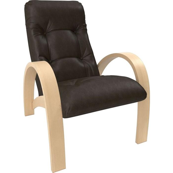 Фото - Кресло Мебель Импэкс Модель S7 натуральное дерево/шпон к/з Vegas lite amber кресло качалка мебель импэкс модель 707 венге к з vegas lite amber