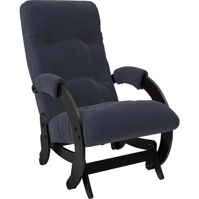 Кресло-качалка глайдер Мебель Импэкс Модель 68 венге ткань Verona denim blue