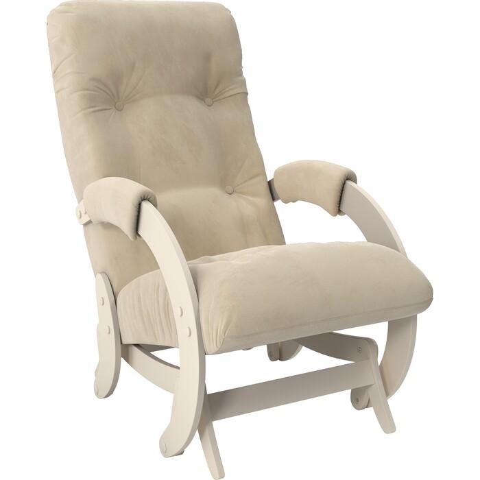 Кресло-качалка глайдер Мебель Импэкс Модель 68 дуб шампань ткань Verona vanilla кресло глайдер мебель импэкс balance 1 дуб шампань verona vanilla