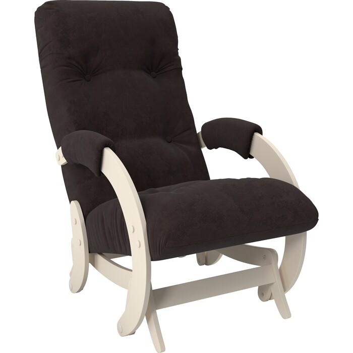 Кресло-качалка глайдер Мебель Импэкс Модель 68 дуб шампань ткань Verona wenge