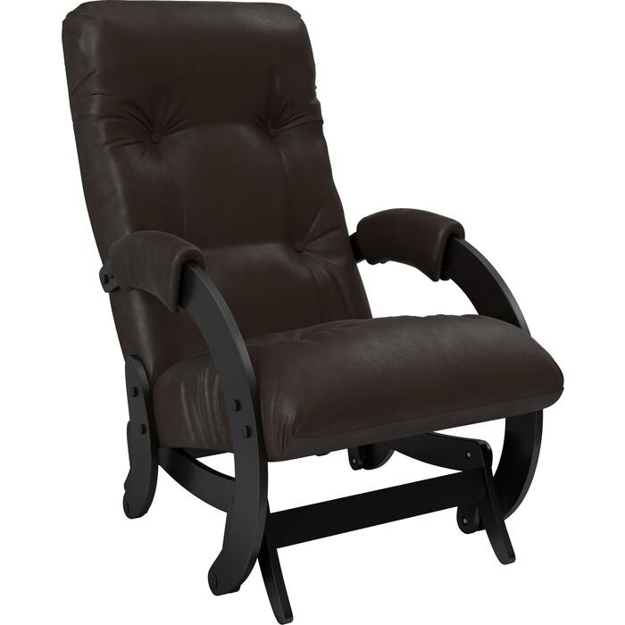 Кресло-качалка глайдер Мебель Импэкс Модель 68 венге к/з dundi 108 кресло алвест av 108 pl 727 mk ткань 415 серая с черной ниткой