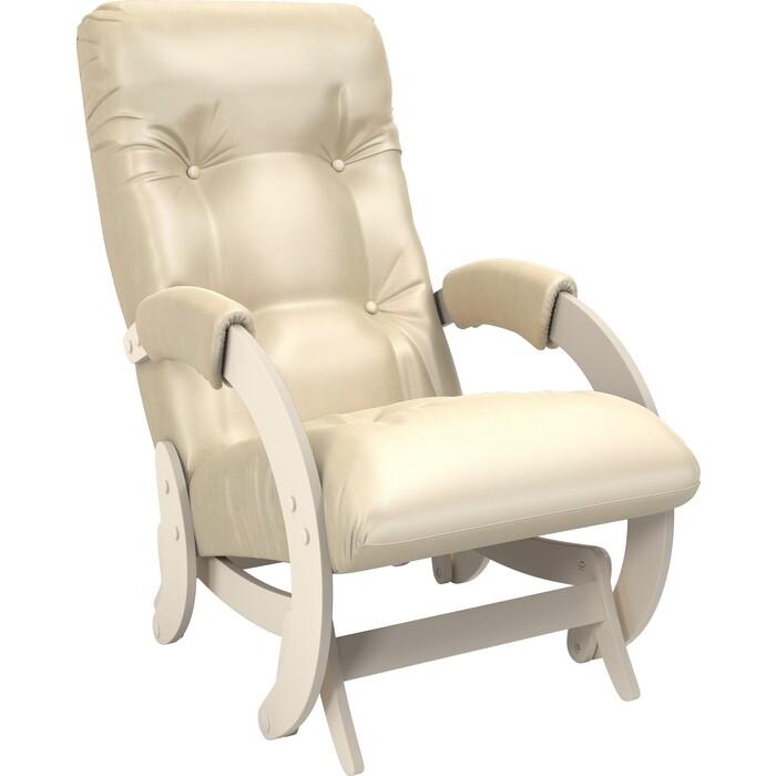 Кресло-качалка глайдер Мебель Импэкс Модель 68 дуб шампань к/з oregon perlamutr 106