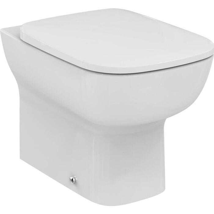 Унитаз приставной Ideal Standard Esedra с сиденьем микролифт (T281201, T318101)