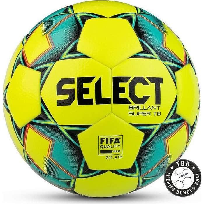 цена Мяч футбольный Select Brillant Super FIFA TB YELLOW арт. 810316-554,р.5, FIFA, 32п,термосш, жел-зел-черн онлайн в 2017 году
