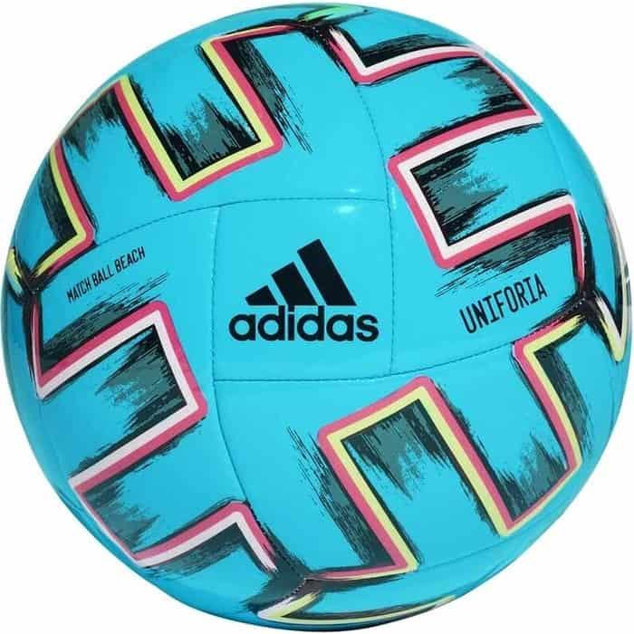 Мяч для пляжного волейбола Adidas UNIFORIA PRO BEACH, арт. FH7347, р.5, FIFA Pro, 18п,ТПУ, маш.сш, голубой