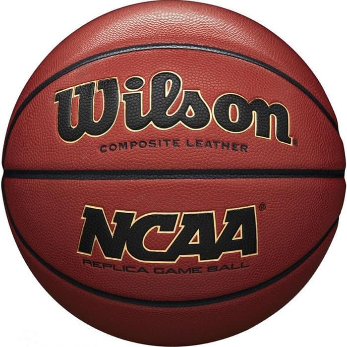 Мяч баскетбольный Wilson NCAA Replica Comp Defl арт. WTB0730XDEF, р.7, ПУ, бутил. камера, коричневый