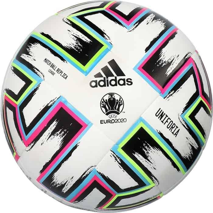 Мяч футбольный Adidas EURO20 UNIFORIA LGE арт. FH7339, р.5, FIFA Quality, 8 пан, ТПУ, термосш, мультикол