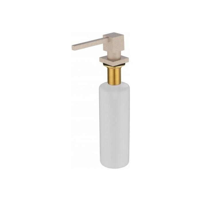 Дозатор для моющих средств Kaiser встраиваемый в мойку, Sand (KH-3023 Sand)