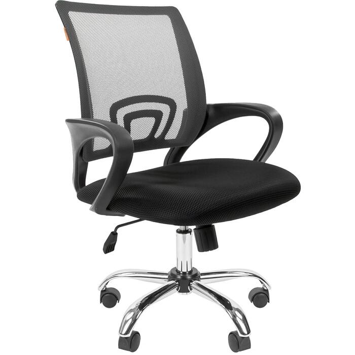 Офисное кресло Chairman 696 TW серый хром