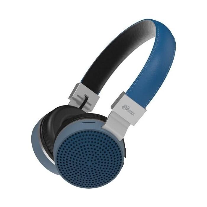 Наушники Ritmix RH-460BTH Blue