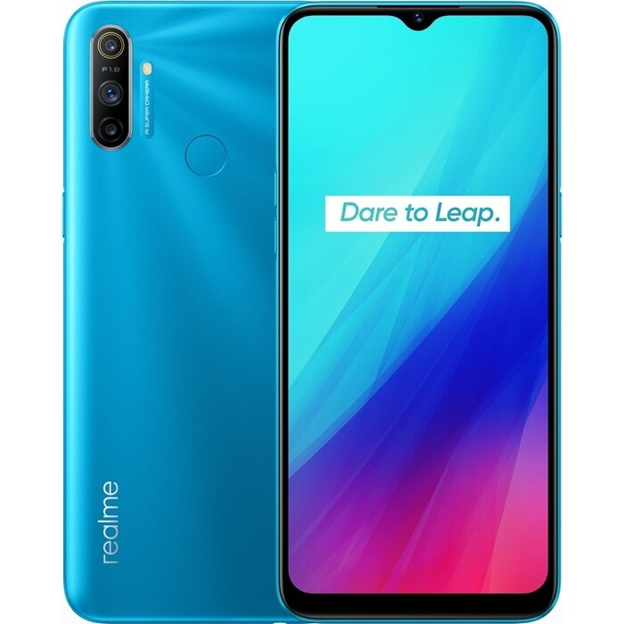 Смартфон Realme C3 3/64Gb Blue meizu 15 64gb blue
