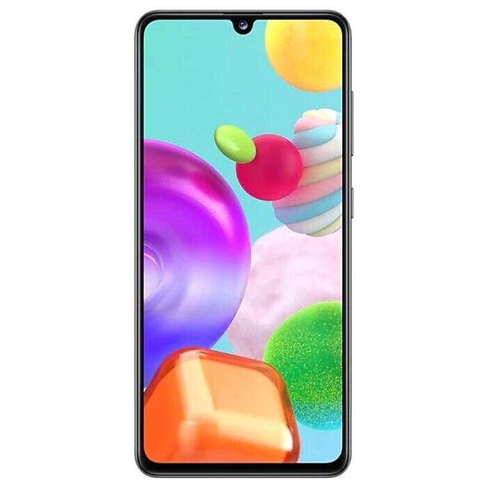 Смартфон Samsung Galaxy A41 4/64Gb черный смартфон samsung galaxy a21s 4 64gb синий