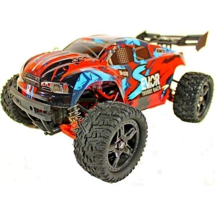 Радиоуправляемая трагги Remo Hobby S EVO-R UPGRADE (красный) 4WD 2.4G 1/16 RTR - RH1661UPG-RED