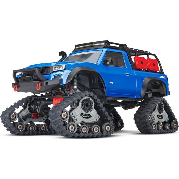 Радиоуправляемая машина TRAXXAS 1/10 Scale 4X4 Trail Truck Blue - TRA82034-4-BL