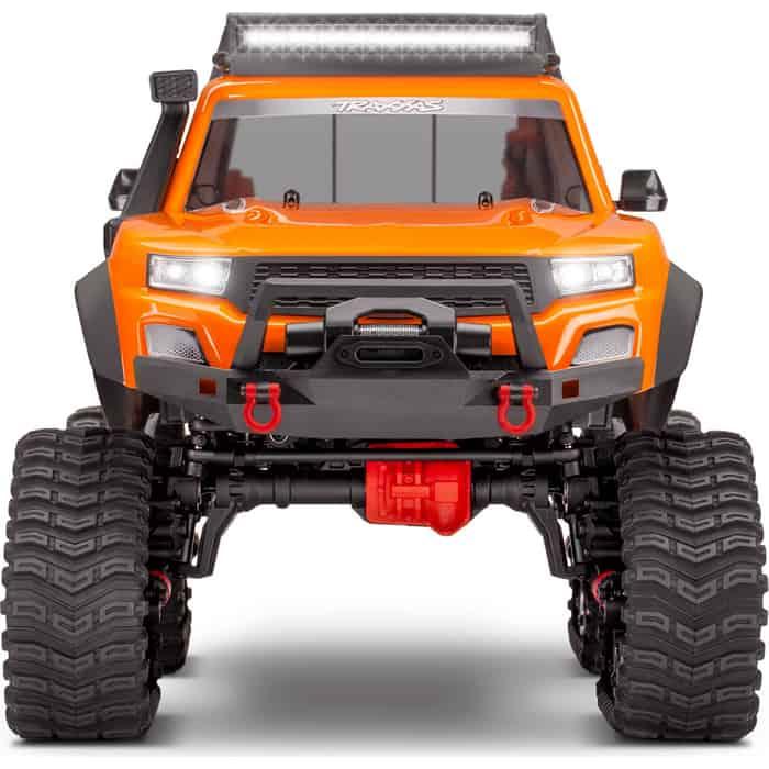 Радиоуправляемая машина TRAXXAS 1/10 Scale 4X4 Trail Truck Orange - TRA82034-4-OR