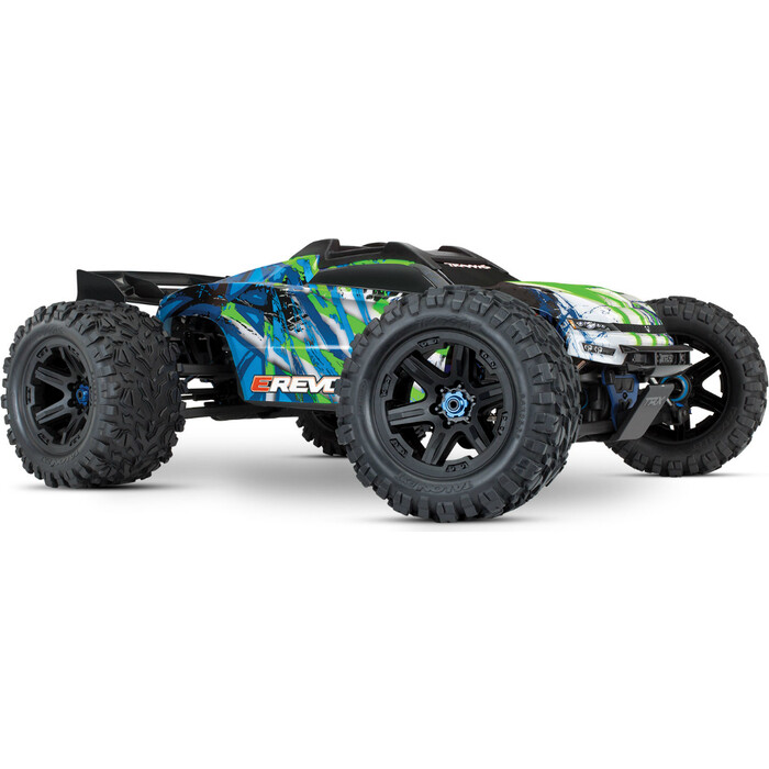Радиоуправляемый машина TRAXXAS E-Revo VXL Brushless: 1:10 Scale 4WD Brushless Green - TRA86086-4-G