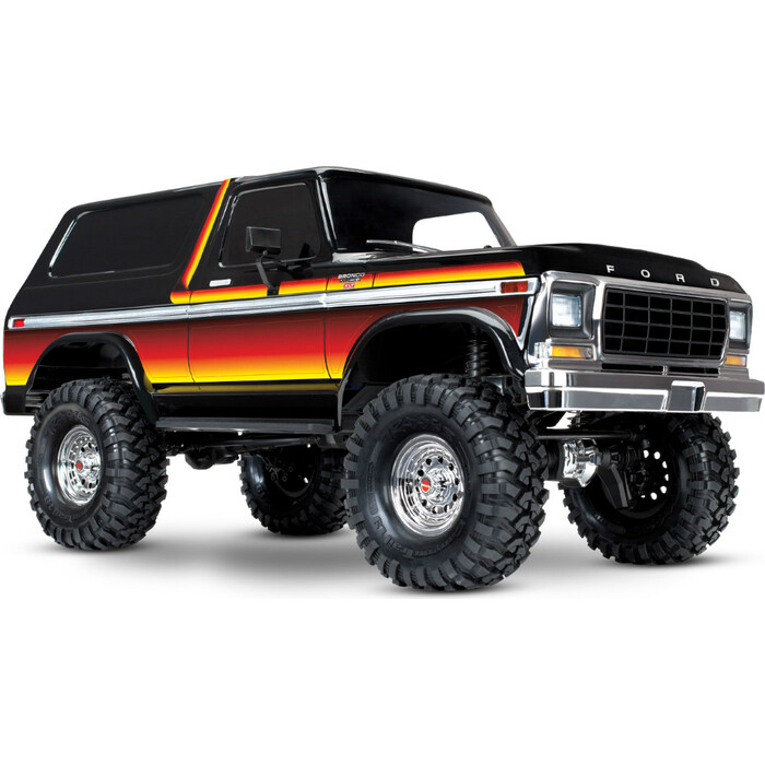 Радиоуправляемая машина TRAXXAS Ford Bronco 4WD Electric Truck Orange - TRA82046-4-OR
