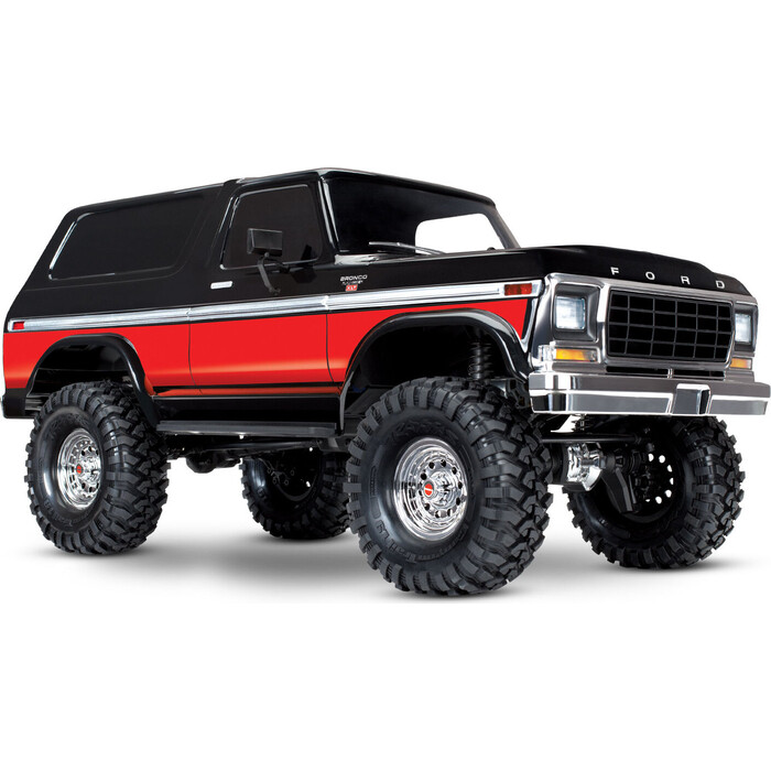 Радиоуправляемая машина TRAXXAS Ford Bronco 4WD Electric Truck Red - TRA82046-4-R