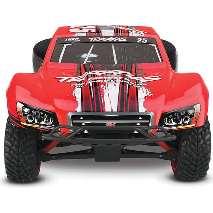 Радиоуправляемая машина TRAXXAS Slash 1:16 4WD TQ Fast Charger Red - TRA70054-1-R red 1