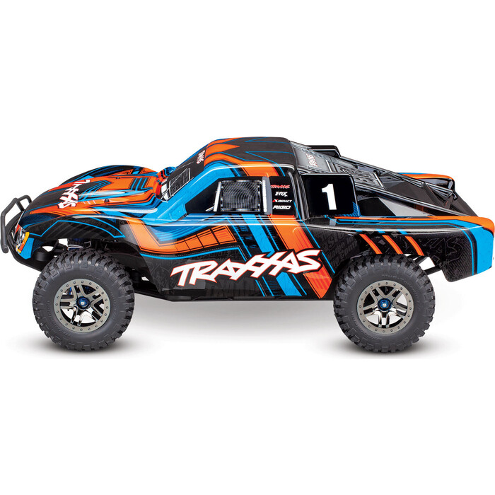 Радиоуправляемая машина TRAXXAS Slash Ultimate 1:10 4WD VXL TQi Bluetooth Module OBA - TRA68077-4-OR