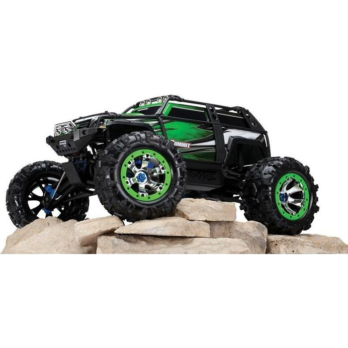 Радиоуправляемая машина TRAXXAS Summit 1:10 4WD TQi Ready to Bluetooth Module (w:o Battery and Charger) Green - TRA56076-4-G