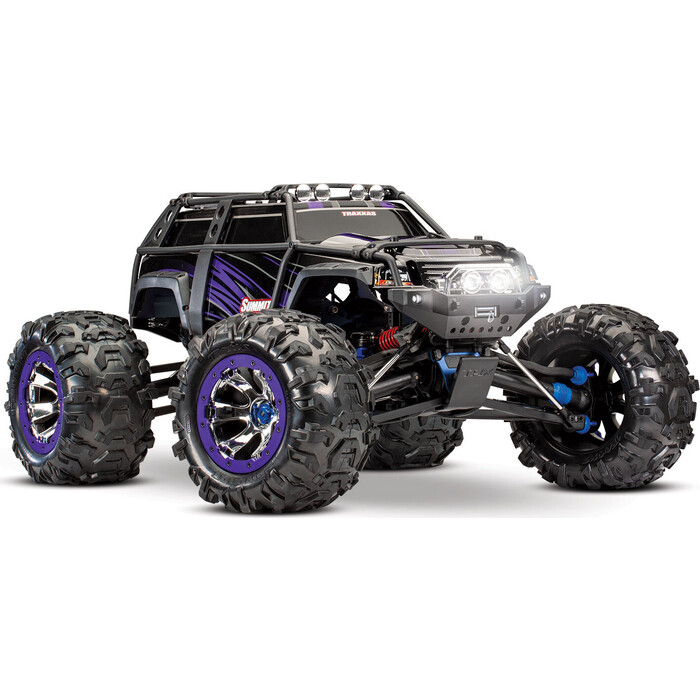 Радиоуправляемая машина TRAXXAS Summit 1:10 4WD TQi Ready to Bluetooth Module (w:o Battery and Charger) Purple - TRA56076-4-PRPL