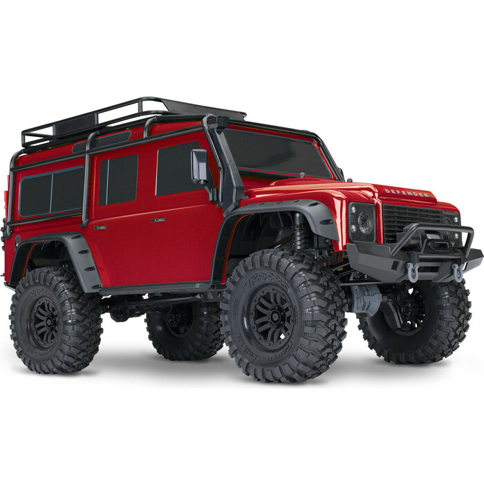 Радиоуправляемый машина TRAXXAS TRX-4 1:10 Land Rover 4WD Scale and Trail Crawler Red - TRA82056-4-R