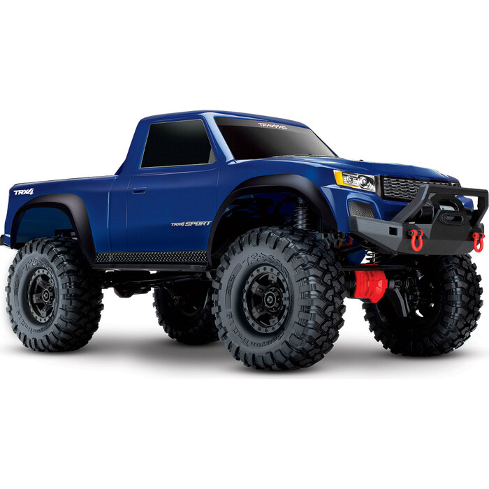 Радиоуправляемая машина TRAXXAS TRX-4 1:10 Sport 4WD Scale Crawler Blue - TRA82024-4-BL