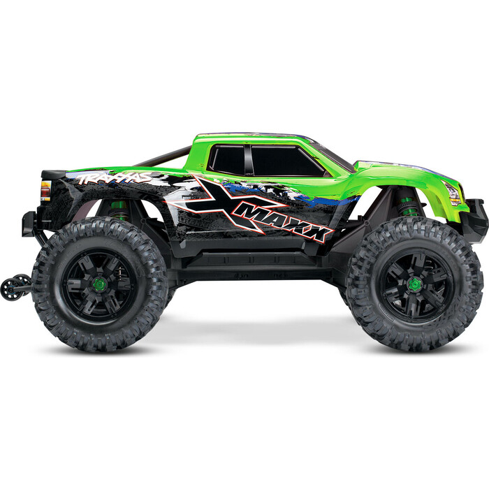 Радиоуправляемая машина TRAXXAS X-MAXX 1:5 4WD 8S Brushless TQi Ready to Bluetooth Module TSM Green - TRA77086-4-GX