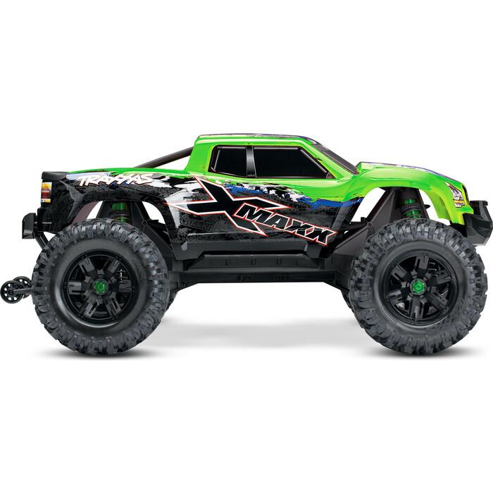 1 8 vrx 2e 4wd brushless ready to run buggy Радиоуправляемая машина TRAXXAS X-MAXX 1:5 4WD 8S Brushless TQi Ready to Bluetooth Module TSM Green - TRA77086-4-GX