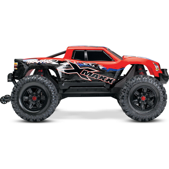 Радиоуправляемая машина TRAXXAS X-MAXX 1:5 4WD 8S Brushless TQi Ready to Bluetooth Module TSM Red - TRA77086-4-RX