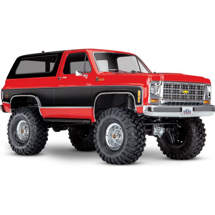 Радиоуправляемая машина TRAXXAS TRX-4 Chevrolet Blazer Red - TRA82076-4-R