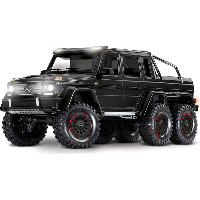 Радиоуправляемый машина TRAXXAS TRX-6 Mercedes-Benz G 63 AMG 6x6 Black - TRA88096-4-B