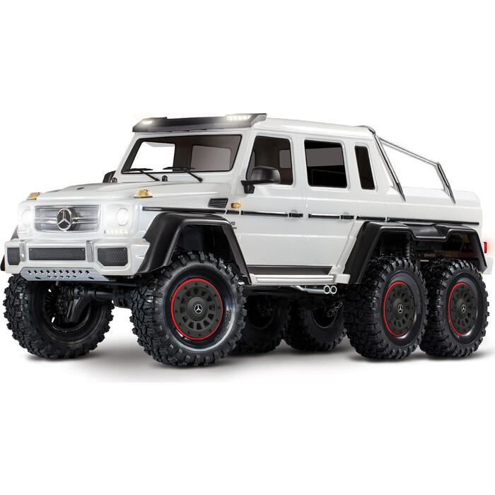 Радиоуправляемая машина TRAXXAS TRX-6 Mercedes-Benz G 63 AMG 6x6 White - TRA88096-4-W