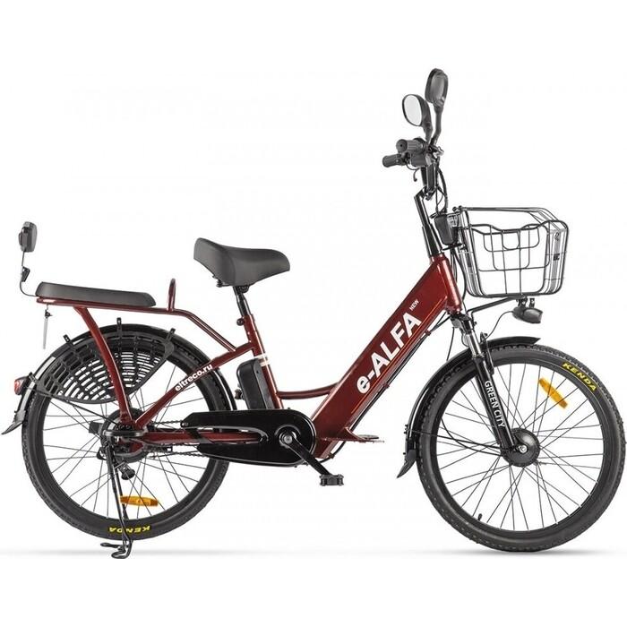 Велогибрид GREEN CITY e-ALFA new 022301-2153