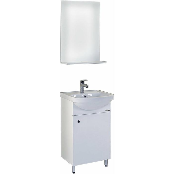 Мебель для ванной комнаты Grossman ЭКО-52, 50 белая (105205)