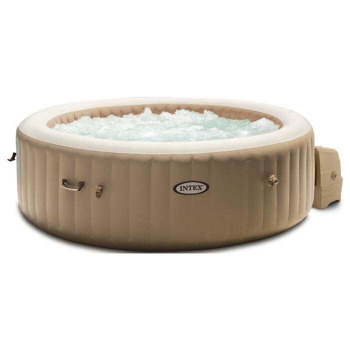 СПА-бассейн Intex 28428 Bubble Massage 165/216х71 см 1098л. круглый с круговым пузырьковым массажем