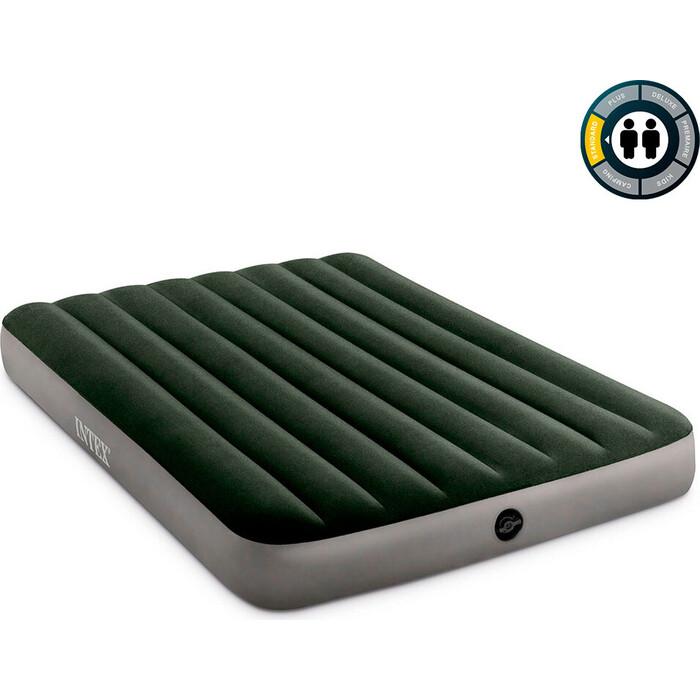 Надувной матрас Intex 64778 Prestige Downy Bed 137х191х25 см насос на батарейках в комплекте