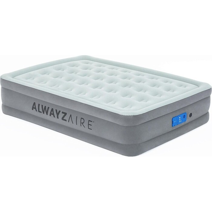 Надувная кровать Bestway 67706 BW Alwayzaire 203х152х46 см встр. электронасос с настраиваемой жесткостью