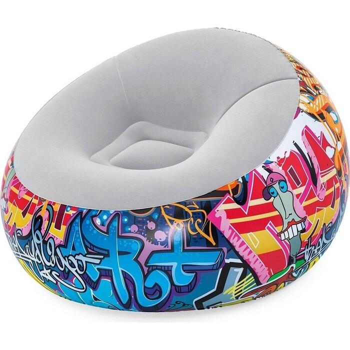 Надувное кресло Bestway 75075 BW Graffiti 112x112x66 см